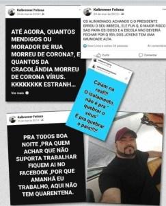 post quarentena4 243x300 - Homem que era contra isolamento social morre com sintomas de COVID-19 em Manaus