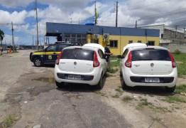 PRF recupera veículo circulando clonado na PB