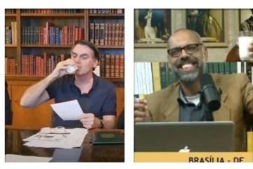 """003 1 - """"Entendedores entenderão"""", diz Allan dos Santos sobre o leite do nazismo - VEJA VÍDEO"""
