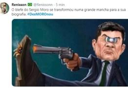 Após depoimento à PF, web diz que Moro #DesMOROnou; comfira