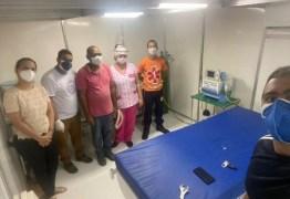 Prefeitura de Alhandra conclui instalação de respirador na nova estrutura do Hospital Municipal