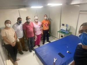 100051378 291564445206912 5050553224205959168 n 620x465 1 300x225 - Prefeitura de Alhandra conclui instalação de respirador na nova estrutura do Hospital Municipal