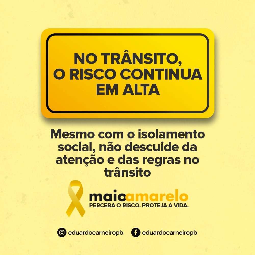 1f872a8b ef89 4c7f 9ab8 cbdc91e87e08 - Eduardo lança campanha de prevenção a acidentes e lembra que mortes no trânsito superam a de assassinatos na Paraíba