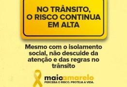 Eduardo lança campanha de prevenção a acidentes e lembra que mortes no trânsito superam a de assassinatos na Paraíba