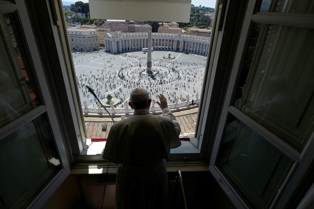 2020 05 31t102827z 566151956 rc2mzg9p8ha2 rtrmadp 3 health coronavirus pope - 'Pessoas são mais importantes do que economia', diz Papa Francisco sobre a pandemia