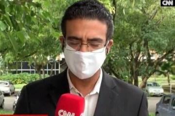 20200524 cnn brasil - Repórter da CNN Brasil perde raciocínio ao vivo e abandona transmissão; VEJA VÍDEO