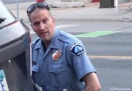 VIOLÊNCIA NOS EUA: Policial preso pela morte de Floyd é indiciado por homicídio culposo