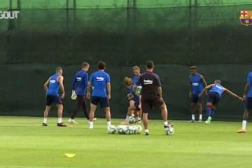 Barcelona deve recomeçar treinos coletivos na próxima segunda-feira
