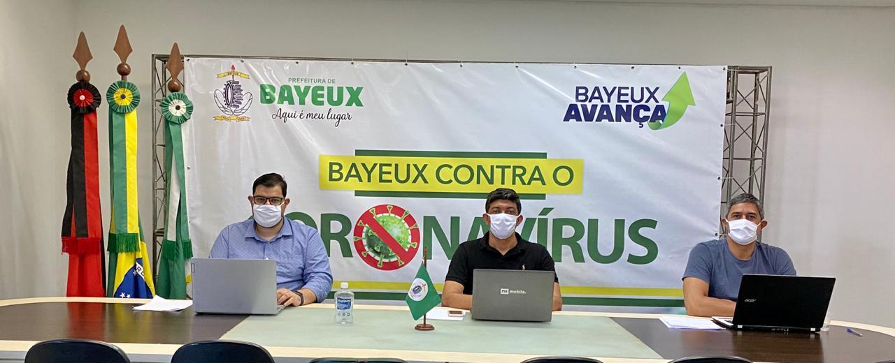 71b85de8 a78d 4dd7 9eee ed0a52d9fd53 - Secretários de Bayeux participam de reunião para avaliar ações de combate ao COVID-19 na Grande JP