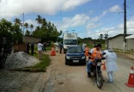 Combate à Covid-19: Prefeitura de Alhandra inicia barreira sanitária e amplia fiscalização no comércio