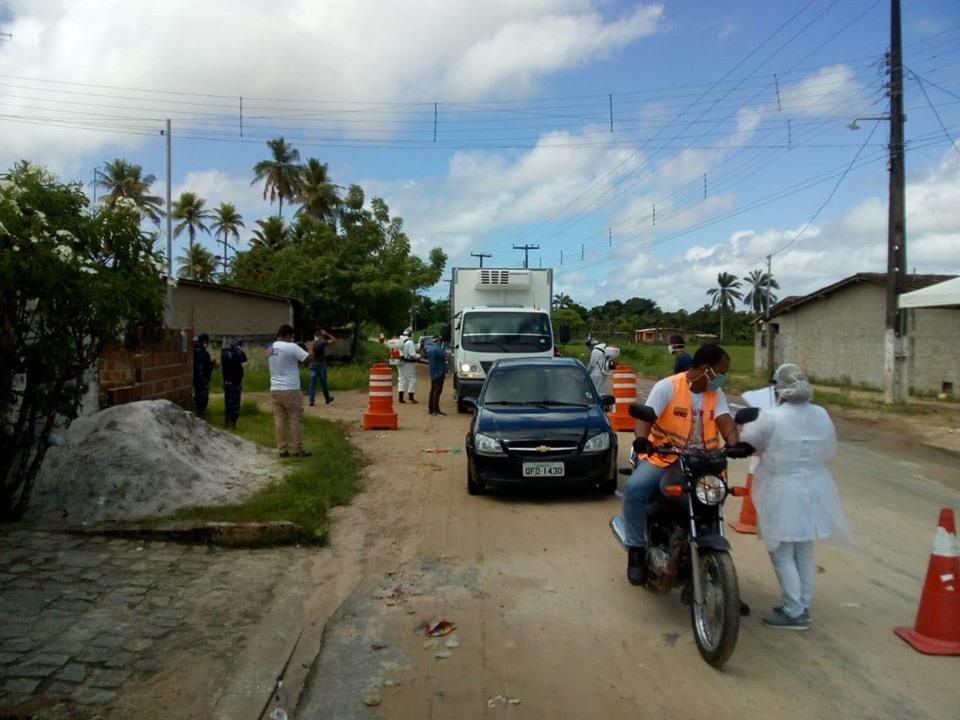 95149918 238533984067412 2898216117132591104 n - Combate à Covid-19: Prefeitura de Alhandra inicia barreira sanitária e amplia fiscalização no comércio