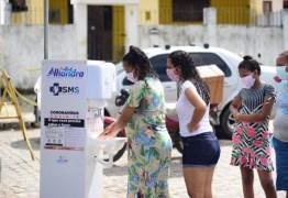 Prefeitura realiza desinfecção nas feiras livres de Alhandra e Mata Redonda, disponibiliza lavatórios e distribui máscaras