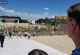 Bolsonaro manda recado: 'Faremos cumprir a Constituição e ela será cumprida a qualquer preço', diz em manifestação no Planalto; VEJA VÍDEO