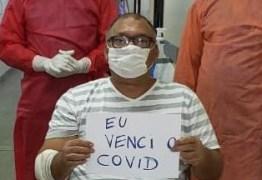 RECUPERADO: Marcos Barros vence a Covid-19 e continua tratamento em casa