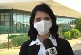 Repórter da Rede Globo sofre falta de ar durante transmissão ao vivo – VEJA VÍDEO