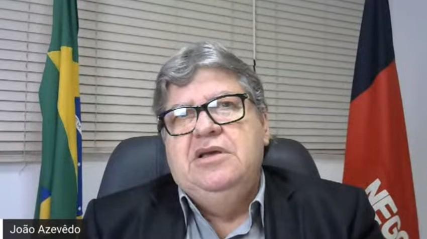 Capturaroo - Na Paraíba as decisões são tomadas baseadas na ciência, diz João ao apresentar plano de retomada da economia - VEJA VÍDEO
