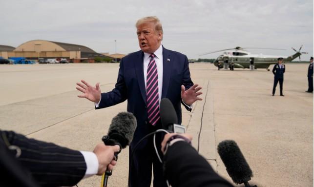 Capturarw - Trump acusa governadores democratas de atrasarem reabertura para prejudicá-lo politicamente