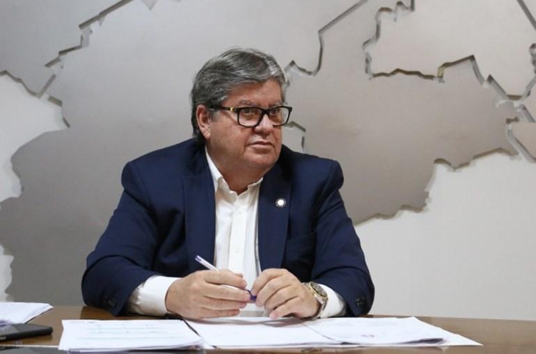 João Azevêdo 1 - Governador quer testar 10% da população da Paraíba e identificar casos assintomáticos da Covid-19