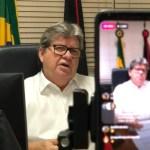 João Azevêdo - COVID-19: João Azevêdo nega 'lockdown', mas confirma restrição de circulação para veículos e pessoas