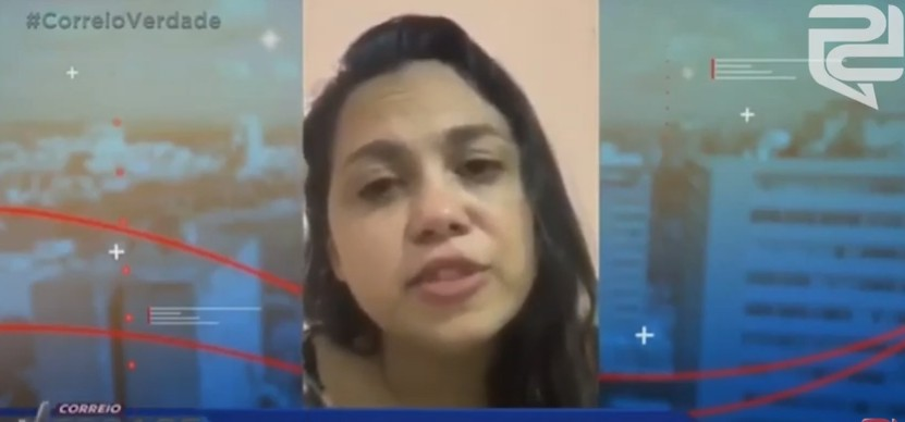 DESABAFO: paraibana que zombou do 'fique em casa' perde marido para coronavírus e apela por isolamento social; VEJA VÍDEO
