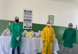 Prefeitura de São José de Piranhas entrega kits de merenda escolar para 3 mil alunos