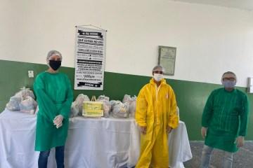 WhatsApp Image 2020 05 19 at 13.45.13 - Prefeitura de São José de Piranhas entrega kits de merenda escolar para 3 mil alunos