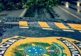 PRF na Paraíba alerta sobre risco de acidentes neste período de chuva
