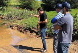 Prefeito de São José de Piranhas anuncia novas passagens molhadas em comunidades da cidade