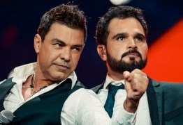 Funcionários de Zezé di Camargo e Luciano contraem Covid-19 e live é cancelada