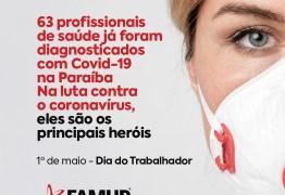 No Dia do Trabalhador, Famup presta homenagem aos profissionais que estão na linha de frente contra Covid-19