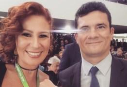 Carla Zambelli diz à PF que não pediu a Bolsonaro para nomear Moro no STF