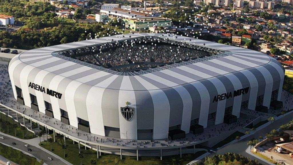 arena mrv2105 - Atlético-MG pretende faturar R$ 100 milhões anuais com futura Arena