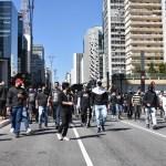 ato sp - Manifestantes fazem ato pró-democracia na Avenida Paulista