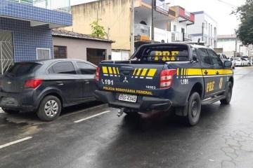b8023ed6 613b 4ae3 a0e7 8c858077cd47 - PRF na Paraíba recupera veículo roubado durante fiscalização na Operação Tamoio