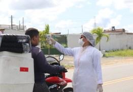OPERAÇÃO PROTEÇÃO: Mangabeira recebe barreira sanitária com testes para detecção do coronavírus