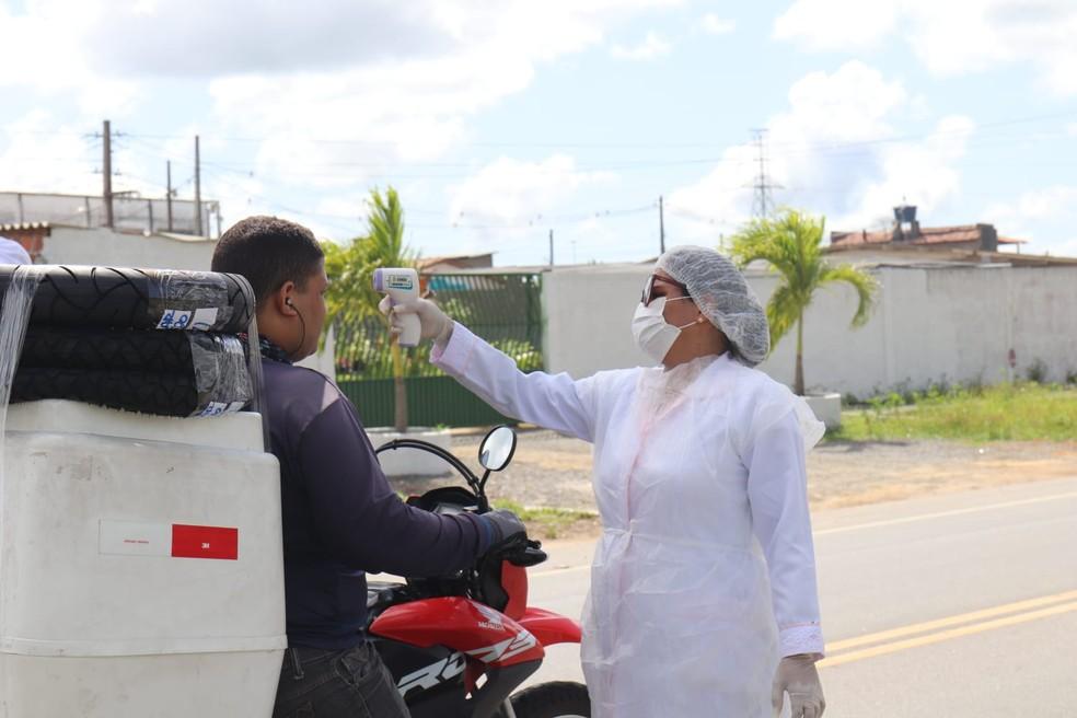 barreira sanitaria conde - Isolamento mais rígido para a Região Metropolitana de João Pessoa começa nesta segunda