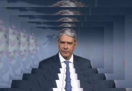 Ataques constantes contra Bonner e familiares poderão causar saída do apresentador da Globo