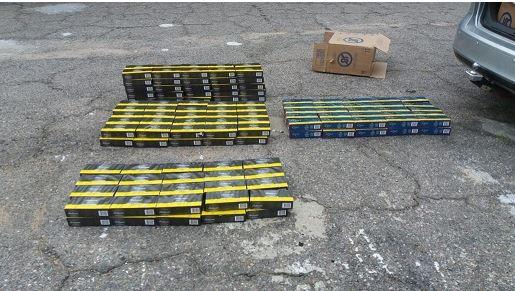 cigarros - PRF na Paraíba, prende dois homens com mais de 25 mil maços de cigarros contrabandeados