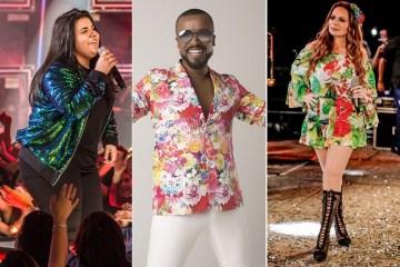 Lives de hoje: Alexandre Pires com Seu Jorge, Yasmin Santos, Solange Almeida e mais shows