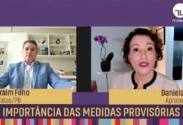 """""""Resposta eficaz"""", diz Efraim Filho ao comentar sobre importância das Medidas Provisórias no combate à pandemia – VEJA VÍDEO"""
