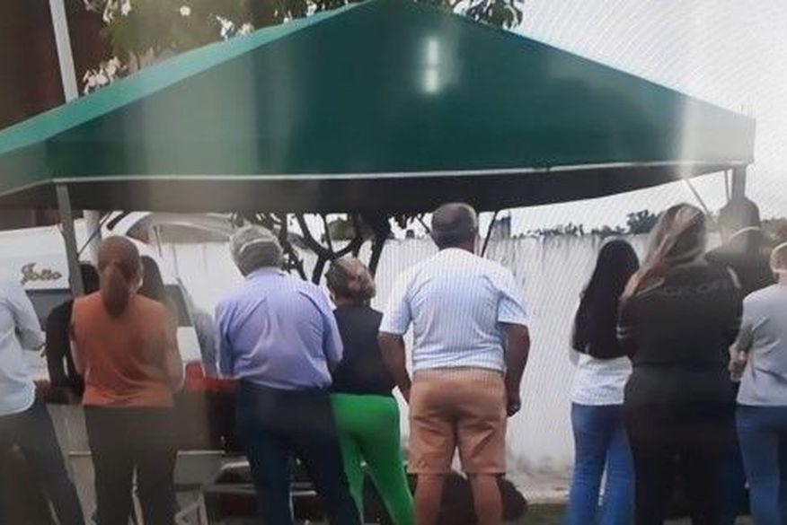 enterro wilson braga - PARAÍBA ENLUTADA: Corpo do ex-governador Wilson Braga é sepultado em João Pessoa