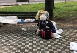 Moradora de rua é encontrada morta em estacionamento de supermercado no Centro de João Pessoa