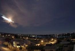 Grande meteoro é registrado por 8 câmeras em 3 estados