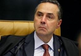Barroso assume presidência do TSE nesta segunda-feira (25)