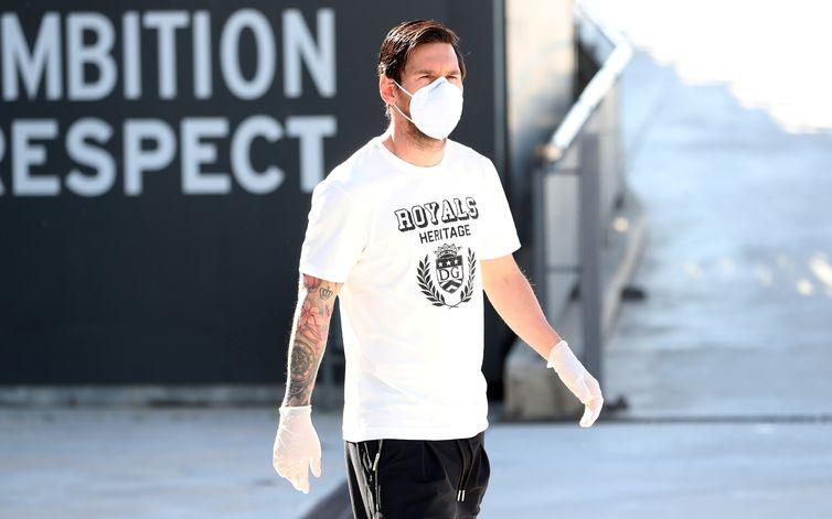 messi covid - Messi doa R$ 3 milhões para hospitais na Argentina comprarem respiradores e EPIs