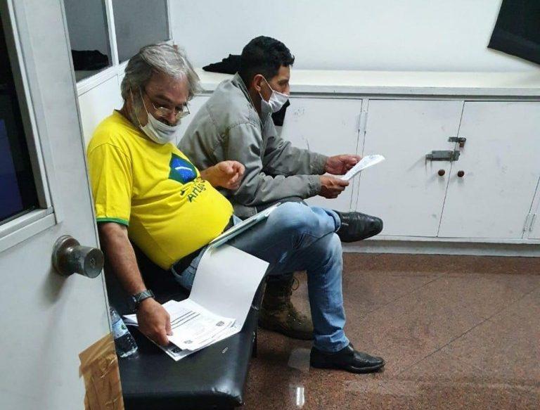 presos alexandre de moraes e1589676877663 - Dois apoiadores do presidente Bolsonaro foram presos após participarem de protesto contra ministro do STF