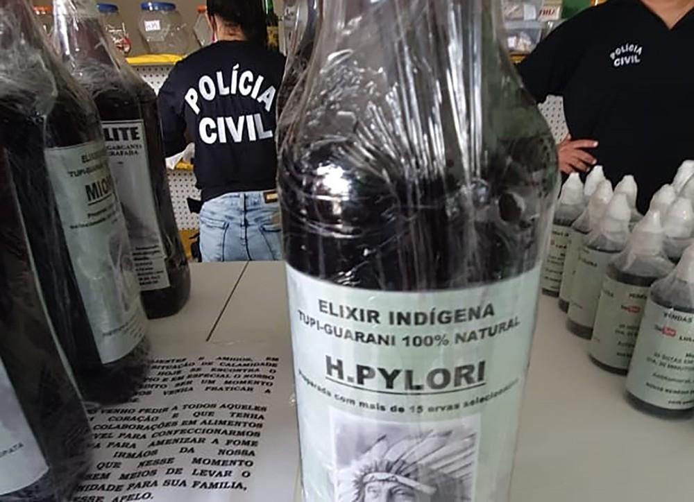 prisao policia civil - Suspeito de vender remédio falso que prometia cura de Covid-19 é preso na PB, diz polícia
