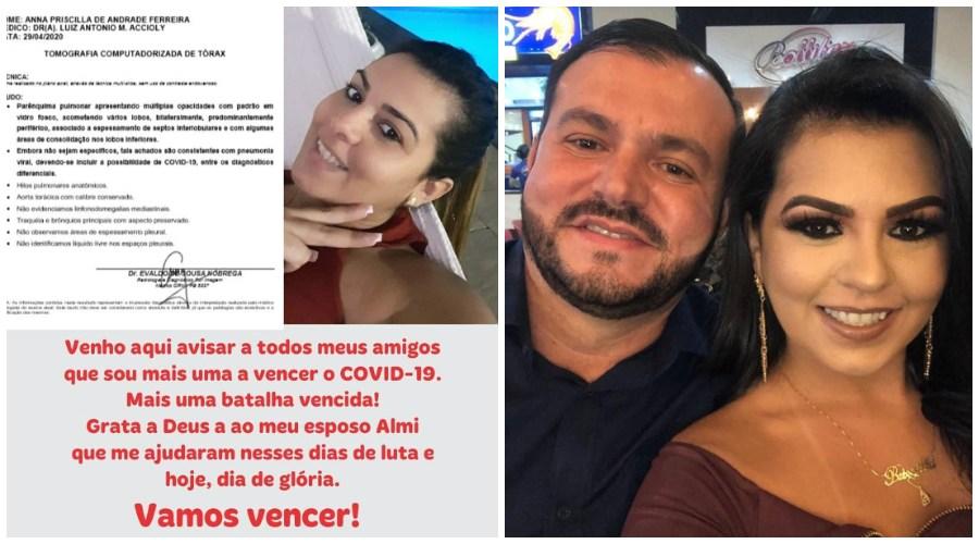 priscilla - AGLOMERAÇÃO: Médico 'esconde' positivo para Covid-19 da esposa e faz churrasco, na PB