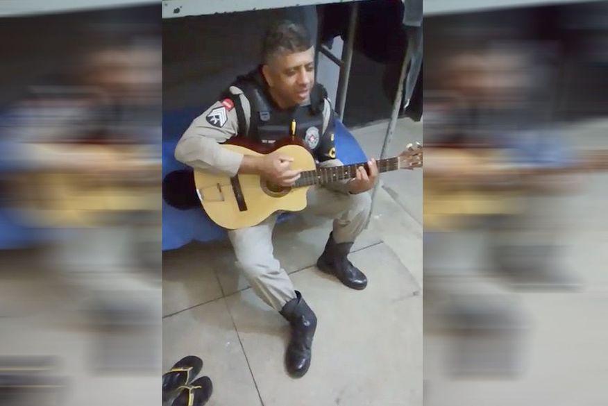 sargento durval da policia militar morre vitima de parada cardiorrespiratoria e com suspeita de coronavirus - Sargento da PM da Paraíba morre vítima de parada cardiorrespiratória e com suspeita de coronavírus