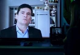 ENTREVISTA À REDE GLOBO: Sérgio Moro diz que Bolsonaro não incentivou combate à corrupção; VEJA VÍDEO